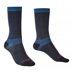 Bridgedale Ladies 2 Pack Coolmax Liner Boot Sock Navy