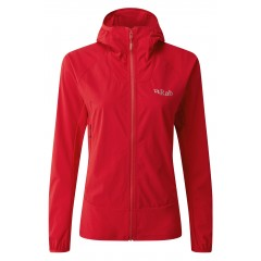 Rab Ladies Borealis Jacket Ruby Red