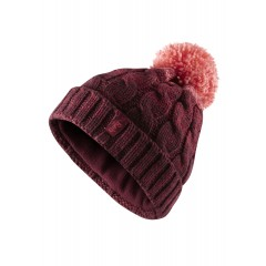 Rab Ladies Braid Beanie Maple/Roccoco