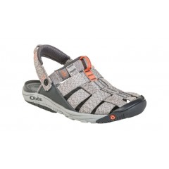 Oboz Ladies Campster Sandals Heather Grey/Coral