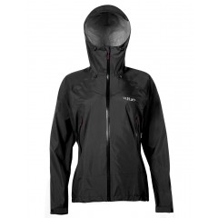 Rab Ladies Downpour Plus Jacket Black