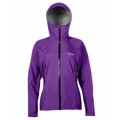 Rab Ladies Downpour Plus Jacket Nightshade