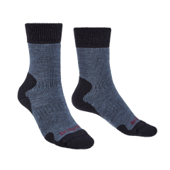 Bridgedale Ladies Explorer Heavyweight Merino Comfort Boot Sock Storm Blue