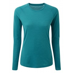 Rab Ladies Forge Merino Long Sleeve Tee Aquamarine