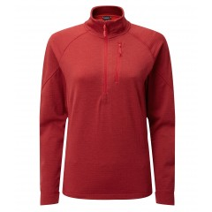 Rab Ladies Nucleus Pull-On Crimson