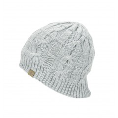 Seal Skinz Waterproof Cable Knit Beanie Grey