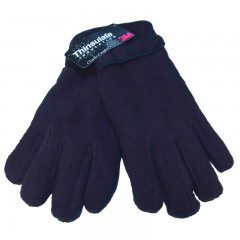 Ladies Thinsulate Lined Fleece Gloves