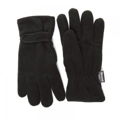Mens Thinsulate Lined Fleece Gloves